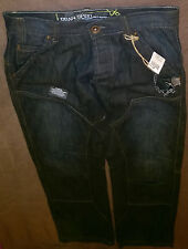 "7) Urban Spirit Jeans - Dark Blue - W30"" - Slouch"