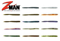 """Z Man Fattyz Worm Bait 5"""" 6Pk - Z Man Soft Plastics Soft Plastic Fishing Worms"""