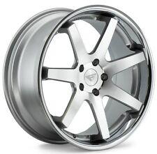 20x9/10.5 Ferrada FR1 5x115 +15 Machine Silver Rims Fits Chrysler Charge Magnum