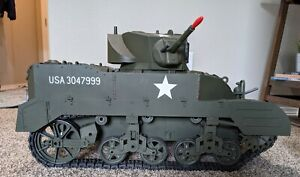 The Ultimate Soldier Radio Control M5 Stuart Tank