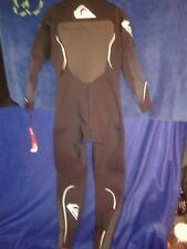 Quiksilver Syncro 3/2 Fullsuit chestzip Black 2XL XXL mens