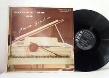 AHMAD JAMAL TRIO LP Count Em 88 1956   Argo mono  vinyl