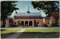 View College Campus center New Jersey NJ Princeton Photo Postcard 1965