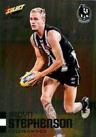 ✺New✺ 2020 COLLINGWOOD MAGPIES AFL Card JAIDYN STEPHENSON Footy Stars Prestige