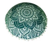 "New Bohemian Decor Mandala Large Pouf 32"" Cushion Gift Floor Pillow Cover Cotton"