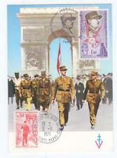 FRANKREICH Maximumkarte, General De Gaulle 1971 / 74