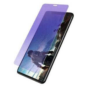 Clear Matte Purple Tempered Glass Screen Protector For iPhone 13 12 Mini Pro Max