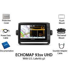 Garmin ECHOMAP UHD 93sv Chartplotter/Fishfinder US LakeVü g3 010-02342-00