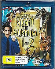 NIGHT AT THE MUSEUM 1 & 2 BLU RAY - NEW & SEALED BEN STILLER, ROBIN WILLIAMS