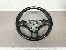 GENUINE Peugeot 206 CC Sport GTI XSI Quicksilver BLACK Leather Steering Wheel
