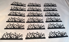 Tim Holtz Die Cuts: Twigs * Black Cardstock * Set of 18 * Sizzix 657183