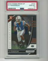 CJ HENDERSON RC 2020 Prizm Draft Picks PSA 10 Gem Rookie Prizm