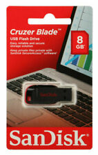 Sandisk SDCZ50-008G 8G Lot Retail 8GB Flash Pen Drive USB 2.0 CRUZER BLADE