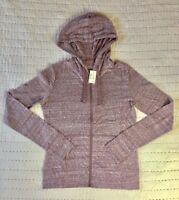 Aeropostale Women's Red Light Weight Full Zip Hoodie Size M NWT New