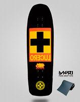 Black Label Monopatín Skate Skateboard Deck Lucero Cross Black Dip 10