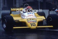 Eliseo Salazar ATS D5 Detroit Grand Prix 1982 fotografía