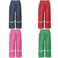 Playshoes Trousers Rain Waterproofs Easy Fit - Various Sizes & Colours