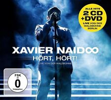 XAVIER NAIDOO - HÖRT,HÖRT! LIVE VON DER WALDBÜHNE 2 CD + DVD NEU
