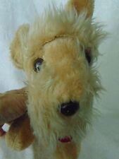 Schnauser Dog Plush Stuffed Atlanta Novelty Gerber Vintage Korea Look!