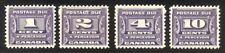 Canada #J11-14 Mint - 1933 Postage Dues ($71)