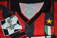 1994 1995 AC Milan Player Issue Champions League Home Shirt L
