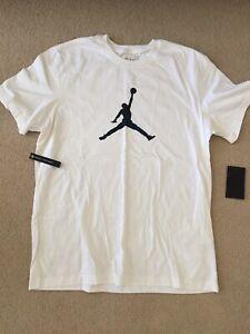 **BRAND NEW** Men Air Jordan Retro 11 Jumpman Snakeskin T-shirt Black Sz Large