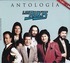 Los Bukis Antologia 4CDS+1DVD Marco Antonio Solis CAJA DE CARTON