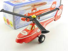 VEB Plasticart Fire Patrol Hubschrauber Blechspielzeug DDR  OVP SG 1604-19-91