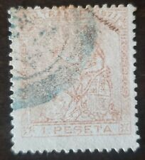 Spain Colony stamp used hinged.