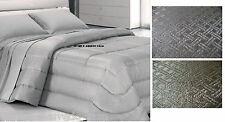 Quilt - Duvet, Double 2 Squares G.Ferrari - Cassia 1.Tortora And Grey