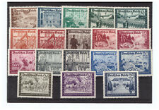 GERMANY SC.B148-B159 FELLOWSHIP OF THE GERMAN POST OFFICE COMPLETE SET MH PBPG2
