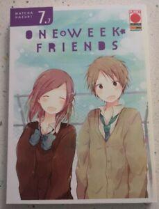 One Week Friends 7 Planet Manga Panini Matcha Hazuki Nuovo Aprile 2017