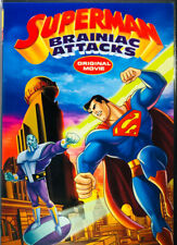 Superman: Brainiac Attacks (DVD, 2006) Like New, Free Shipping
