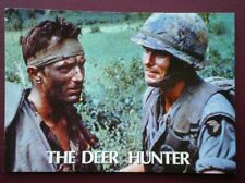 POSTCARD ADVERT POSTER FOR THE FILM 'THE DEER HUNTER'  IN VIETNAM