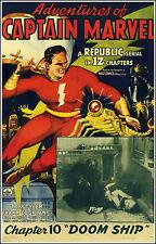 Adventures Of Captain Marvel  - Cliffhanger Movie Serial DVD Tom Tyler