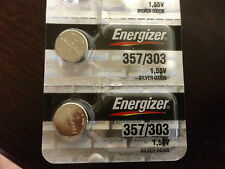 USA Authorized Seller Two 2 357 303 ENERGIZER SR44SW SR44W EPX76 LR44 Battery