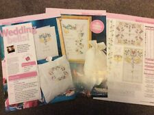 Personalised Wedding Sampler & Card cross stitch chart Only (490)