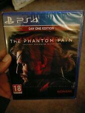 Metal Gear Solid V: The Phantom Pain (PlayStation 4) Day One Edition. Sellado.