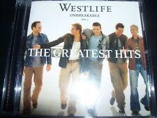 Westlife Unbreakable The Greatest Hits Vol. 1 The Greatest Hits (Australia) CD