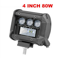 1x 4 Inch CREE LED Work Light Bar Spot Flood Beam Offroad Fog Driving 4WD 4x4
