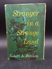 Robert Heinlein STRANGER IN A STRANGE LAND vintage 1961 HB DJ book club edition