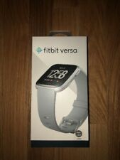 Fitbit Versa Fitness Watch, Gray/Silver Aluminum #FB504SRGY