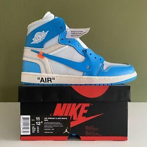 Nike x Off White Air Jordan 1 UNC / University Blue - UK10 US11