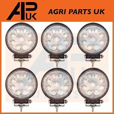 6 x 27W led lampe de travail 12V flood beam 24V camion jeep atv quad bateau