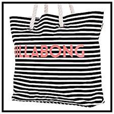 NWT BILLABONG XL ESSENTIAL TOTE Shoulder Beach Diaper BAG Weekender Luggage $49