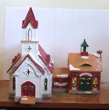 Dept 56 Snow Village Good Shepherd Chapel & Church School #54240 (Y172EX)