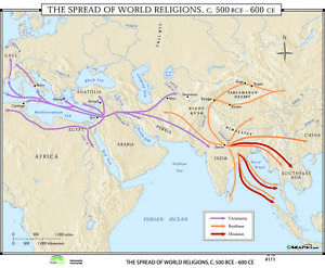 111 The Spread of World Religions, 500 BCE-600 CE