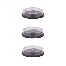 5 x Empty Mini 8cm 10 CD DVD Disc Media Holders Spindle Cases Cake Box