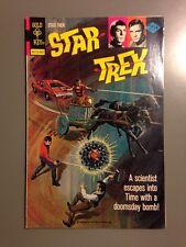 STAR TREK 36 VF 1976 GOLD KEY TV SPOCK CAPTAIN KIRK SHARP