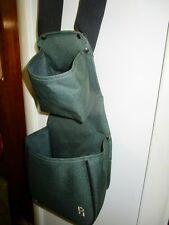 big  dual ammunition green shell bag Bob Allen Enterprises skeet target shooting